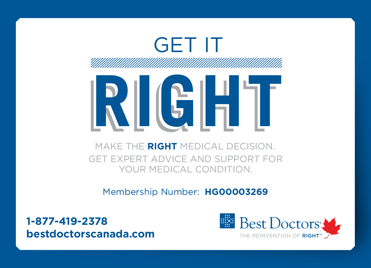 Best Doctors Get it Right Promo